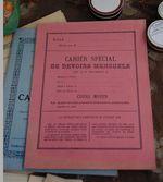 Marché aux Puces Paris Flea Market Cahier de devoirs 24