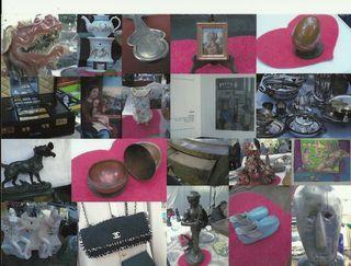 Puces de Vanves Paris Flea Market Objet du Coeur 2011:1