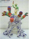 Puces de Vanves Paris Flea Market Not for sale Niki de Saint Phalle