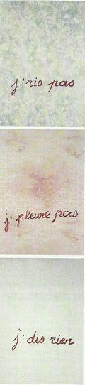 Puces de Vanves Paris Flea Market Not for sale Claude Lévêque