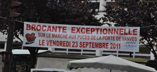 Puces de Vanves Paris Flea Market Brocante Exceptionnelle