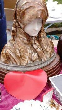 Marché Puces Porte Vanves Paris Antiques Flea Market - Sculpture chryséléphantine
