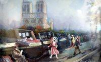 Marché Puces Porte Vanves Paris Antiques Flea Market - Paris sous verre, les bouquinistes