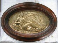 Marché Puces Porte Vanves Paris Antiques Flea Market - Bas-relief bronze 1900