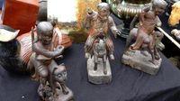 Marché Puces Porte Vanves Paris Antiques Flea Market - Statuettes votives Chine