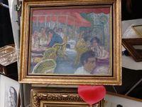 Marché Puces Porte Vanves Paris Antiques Flea Market - Un petit Vuillard