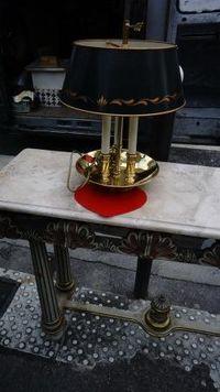 Marché Puces Porte Vanves Paris Antiques Flea Market - Lampe