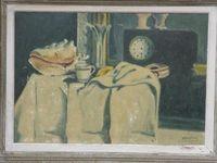 Marché Puces Porte Vanves Paris Antiques Flea Market - D'après Cézanne, nature morte