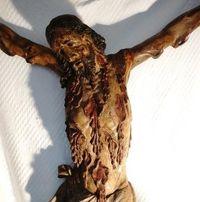 Marché Puces Porte Vanves Paris Antiques Flea Market - Crucifix en bois