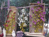 Marché Puces Porte Vanves Paris Antiques Flea Market - Fleurs artificielles pour églises et appartements, Figini, Toulouse