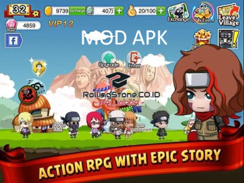 Download Ninja Heroes Mod Apk [Unlimited Gold] Terbaru